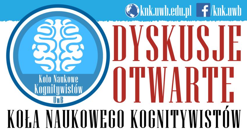"""Dyskusje Otwarte: Piotr Kozak – """"Myślenie za pomocą obrazów"""""""